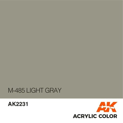 M485 Light Grey AK Interactive - Pré-venda