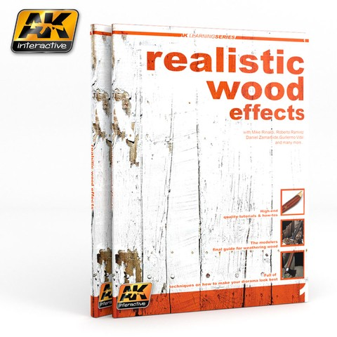 Realistic Wood Effects AK Interactive - PRÉ-VENDA