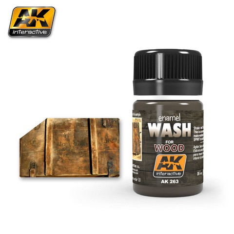 Wash for wood AK Interactive - PRÉ VENDA