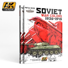 Soviet War Colors Profile Guide AK Interactive - Pré-venda