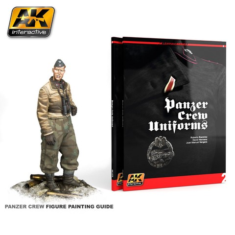 Panzer Crew Uniforms Painting Guide AK Interactive - Pré-venda
