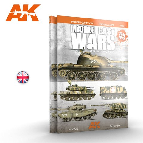 Middle East Wars 1947-1973 Vol.1 Profile Guide AK Interactive - PRÉ-VENDA