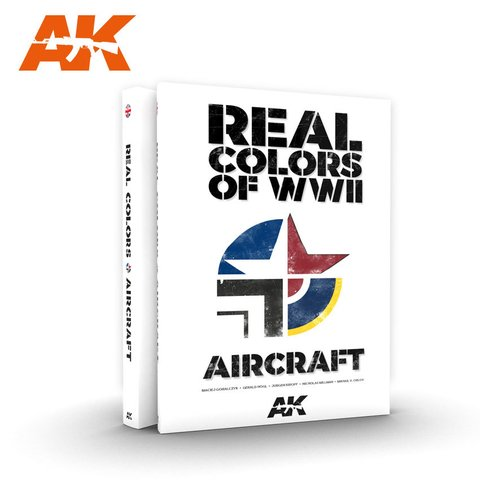 Real Colors of WW2 Aviation Inglês AK Interactive - Pré-venda