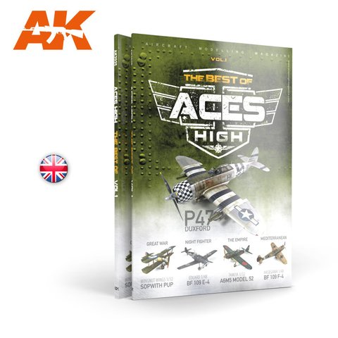 Revista The Best of Aces High AK Interactive - PRÉ-VENDA