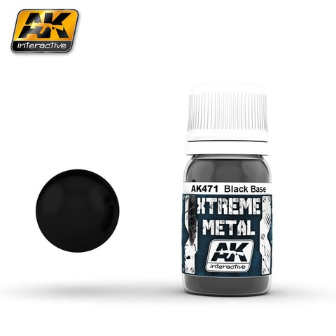 Black Base Xtreme Metal AK Interactive - Pré-venda