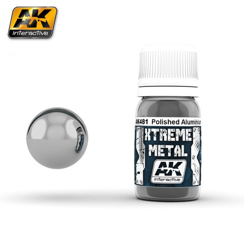 Polished Aluminium Xtreme Metal AK interactive - PRÉ-VENDA
