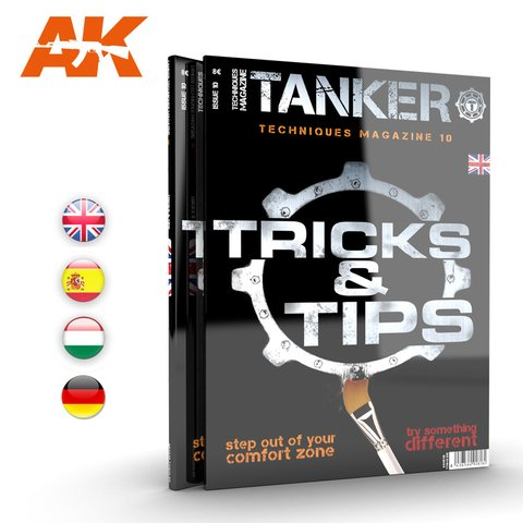 Revista Tanker 10 Tips & Tricks Inglês AK Interactive