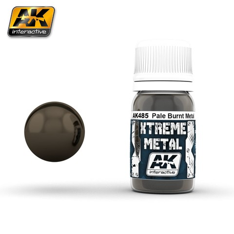 Xtreme Metal Pale Burnt Metal AK Interactive