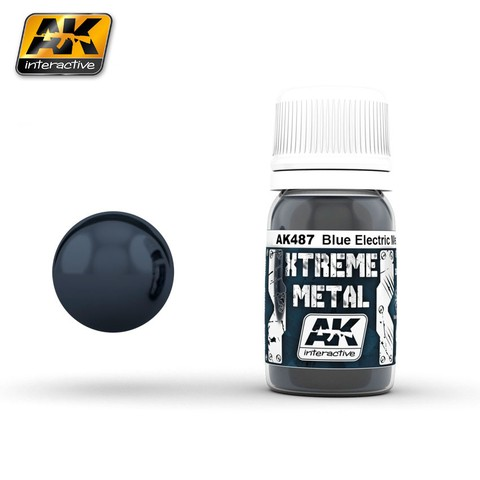 Blue Electric Metal Xtreme Metal AK Interactive - PRÉ-VENDA