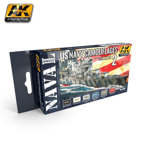 US Navy Camouflage Vol. 2 AK Interactive