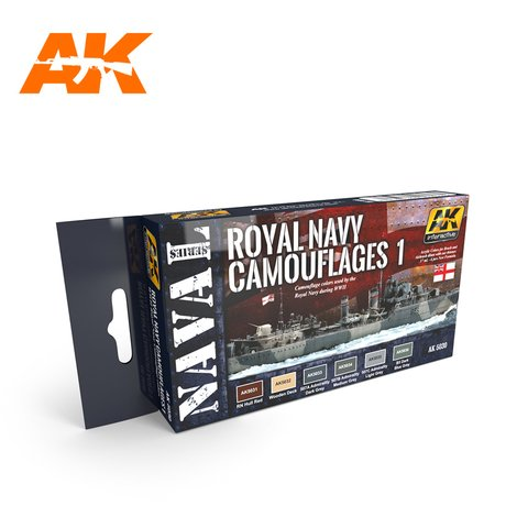 Royal Navy Camouflages 1 AK Interactive