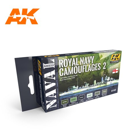 Royal Navy Camouflages 2 AK Interactive - PRÉ-VENDA