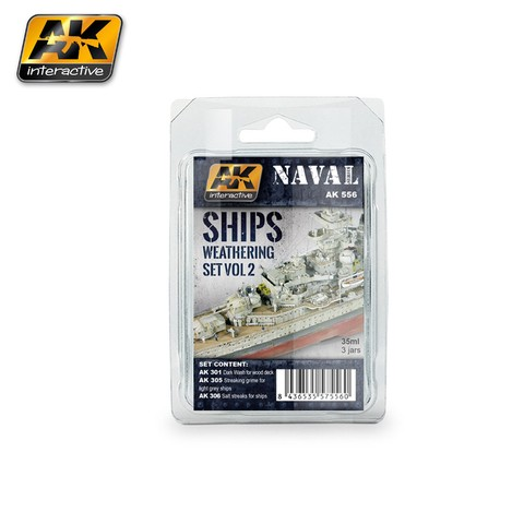 Ships Weathering Set Vol.2 AK Interactive - Pré-venda