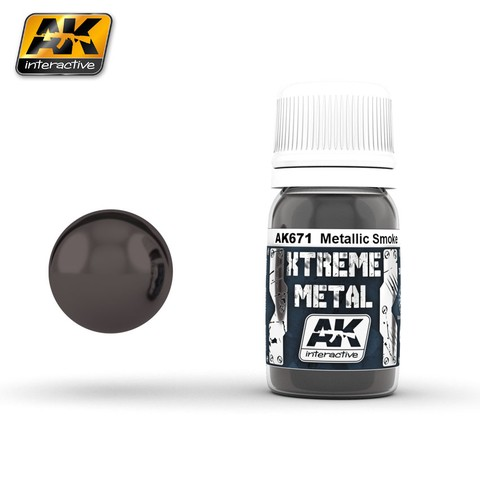 Smoke Xtreme Metal AK Interactive