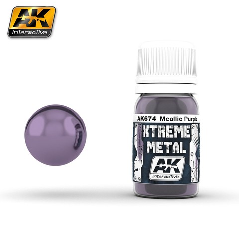 Metallic Purple Xtreme Metal AK Interactive - Pré-venda