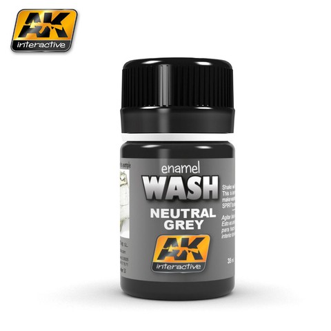 Neutral Grey Wash - AK Interactive