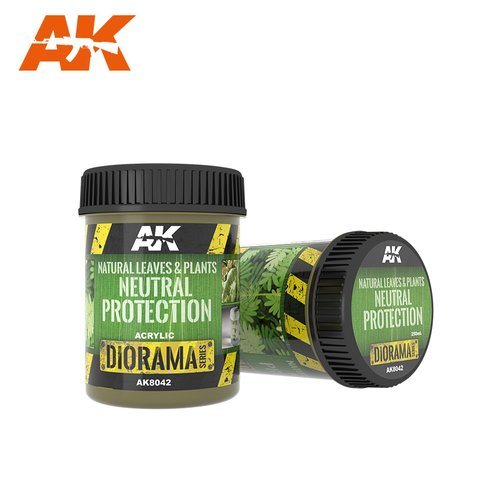 Natural Leaves &  Plants Neutral Protection AK Interactive - PRÉ-VENDA