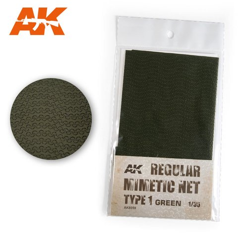 Camouflage Net Green Type 1 AK Interactive - PRÉ-VENDA