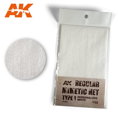 Camouflage Net White 1 AK Interactive