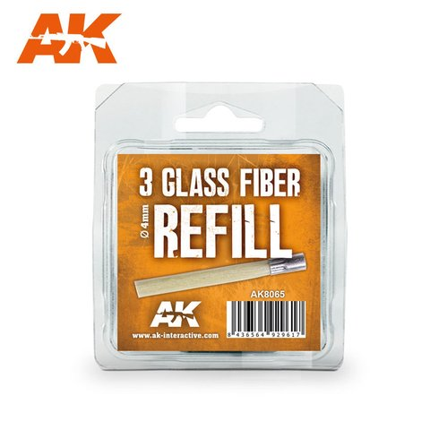 Glass Fibre Pencil Refill AK Interactive - Pré-venda