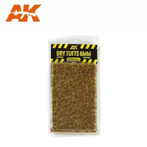 Dry Tufts 6mm AK Interactive - PRÉ-VENDA