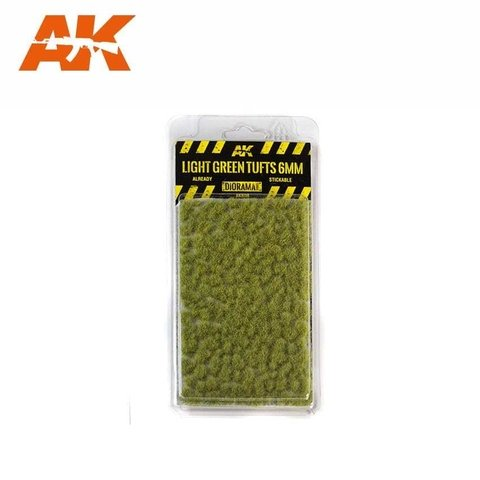 Light Green Tufts 6mm AK Interactive - PRÉ-VENDA