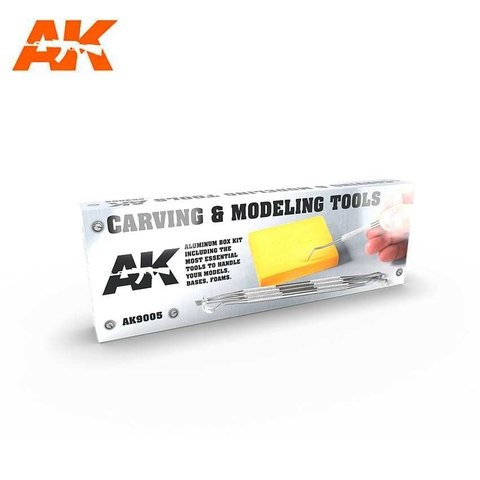 Carving Tools Deluxe Box AK Interactive