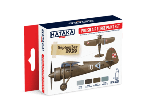 Polish Air Force Paint Set Hataka Hobby - Pré-venda