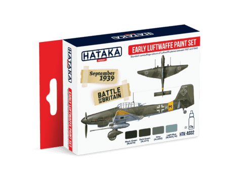 Early Luftwaffe Paint Set Hataka Hobby - PRÉ-VENDA