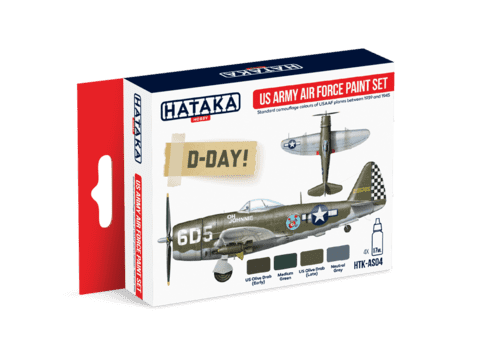 US Army Air Force Paint Set Hataka Hobby - Pré-venda