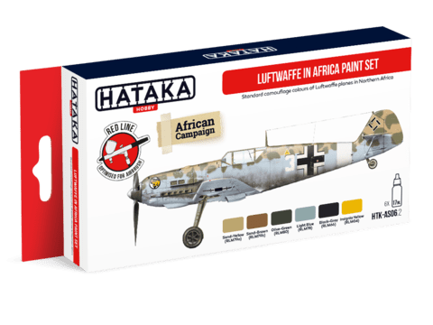 Luftwaffe in Africa Paint Set Hataka Hobby