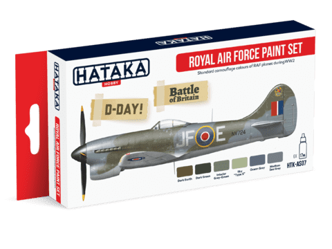 Royal Air Force Paint Set Hataka Hobby - Pré-venda