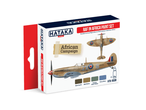 RAF in Africa Paint Set Hataka Hobby - PRÉ-VENDA