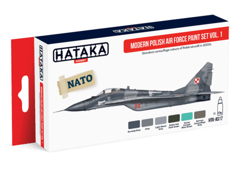 Modern Polish Air Force Paint Set Hataka Hobby - Pré-venda