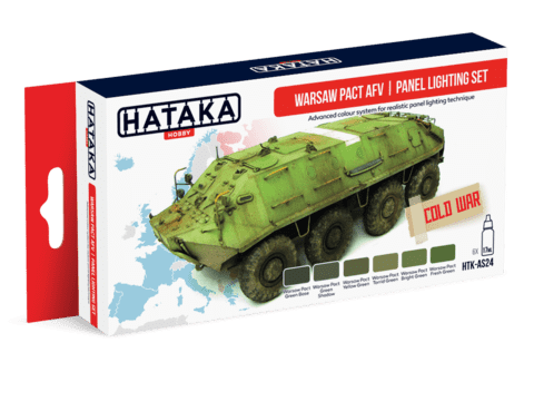 Warsaw Pact AFV Panel Lighting Set Hataka Hobby -  Pré-venda