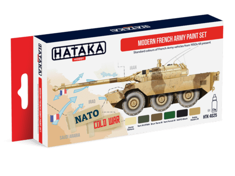 Modern French Army Paint Set Hataka Hobby - Pré-venda