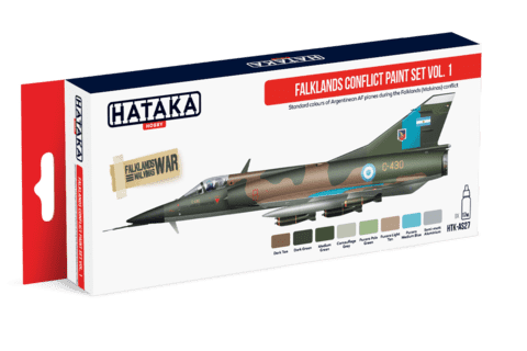 Falklands Conflict Paint Set Vol.1 Hataka Hobby