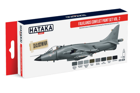 Falklands Conflict Paint Set Vol.2 Hataka Hobby