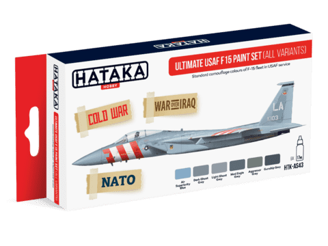 Ultimate USAF F-15 Paint Set Hataka Hobby - PRÉ-VENDA