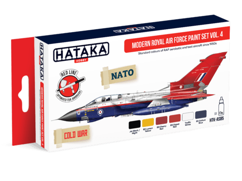 Modern Royal Air Force paint set vol. 4 Hataka Hobby - Pré-venda