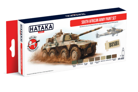 South African Army Paint Set Hataka Hobby - PRÉ-VENDA