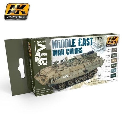 MIDDLE EAST WAR VOL.1 COLORS SET AK interactive - Pré-venda