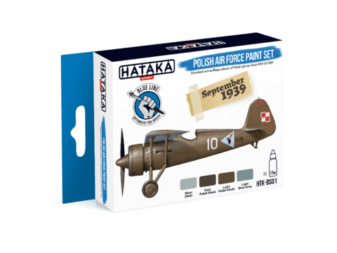 BLUE LINE - Polish Air Force Paint Set Hataka Hobby - Pré-venda