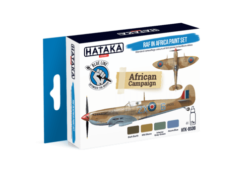 BLUE LINE - RAF in Africa Paint Set Hataka Hobby - Pré-venda