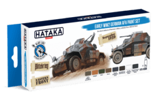 BLUE LINE Early WW2 German AFV Paint Set Hataka Hobby - Pré-venda