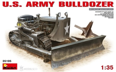 US Army Bulldozer 1/35 Miniart