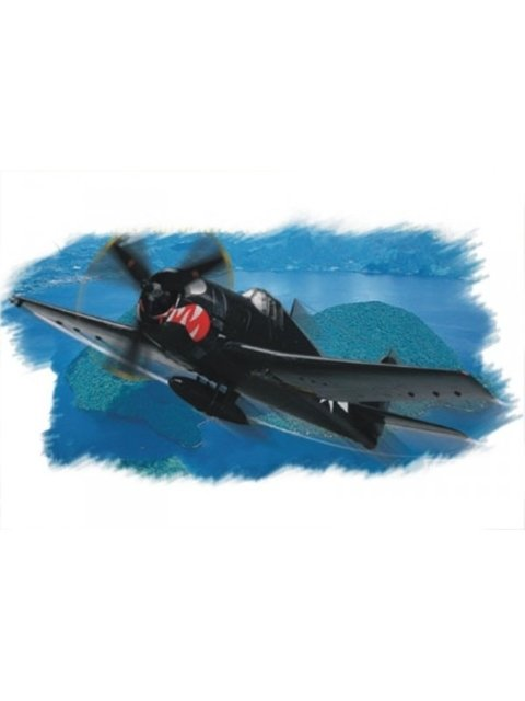 Grumman F6F-5 Early Easy Assembly Hobbyboss 1/72
