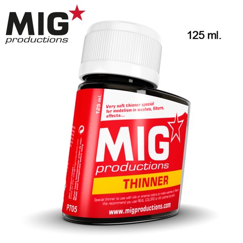 Thinner for Wash 125ml MIG Productions - PRÉ-VENDA