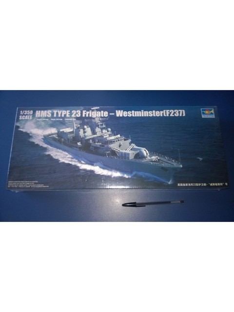 HMS Westminster (Fragata Tipo 23) Trumpeter 1/350