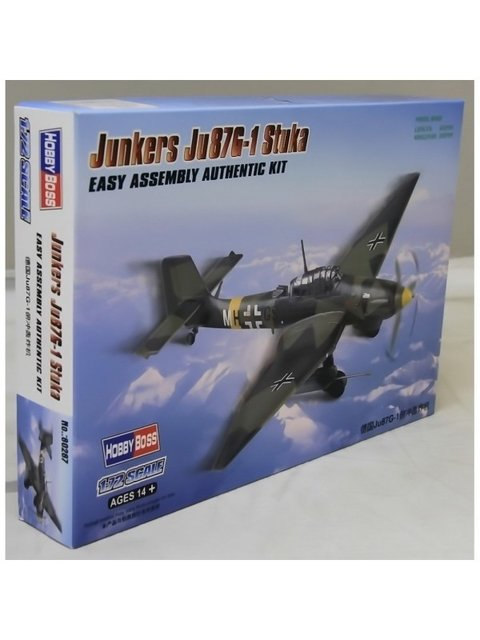 Junkers Ju-87G1 Easy Assembly Hobbyboss 1/72